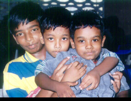 Childrens from techinamoorthy family